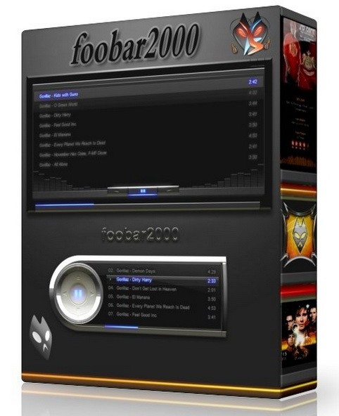 foobar2000 1.4 Beta 15 - самый популярный аудиоплеер