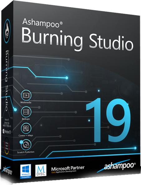 Ashampoo Burning Studio 19.0.2.1 - бесплатный пакет для записи дисков