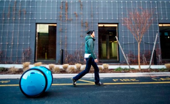 Робот-чемодан Gita