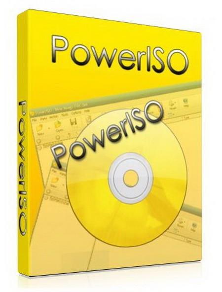 PowerISO 7.2 - работает с образами дисков