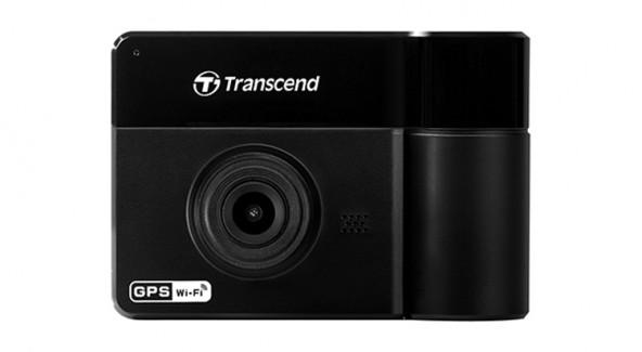 Видеорегистратор Transcend DrivePro 550 с двумя объективами