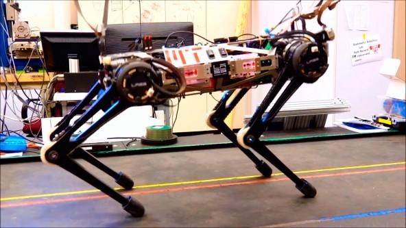 Обновленный робот гепард