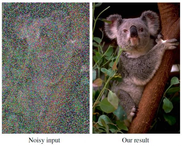 Нейросеть NVIDIA умет убирать шум и надписи с фото