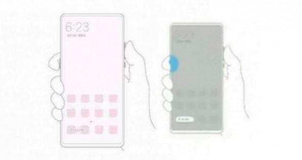 Фото безрамочного Xiaomi Mi Mix 3