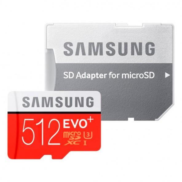 MicroSD Samsung объемом 512 ГБ