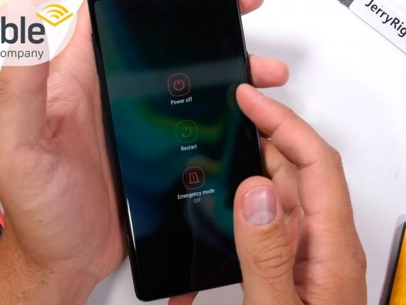 Псевдо жидкостное охлаждение Samsung Galaxy Note9