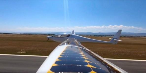 Полет на солнечной энергии