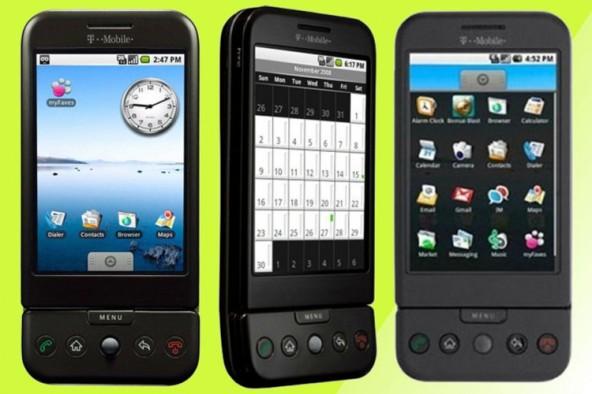 10 лет первому Android смартфону
