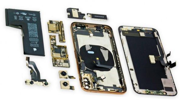 Разборка и проверка на прочность iPhone Xs и iPhone Xs Max