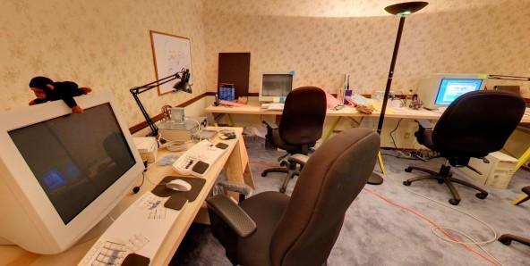 Виртуальный тур по первому офису Google