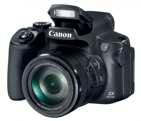 Canon PowerShot SX70 HS: с 65-кратным зумом