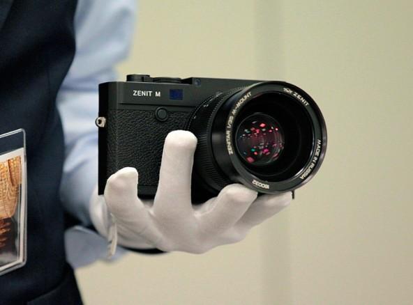 Zenit M - современная версия советского фотоаппарата