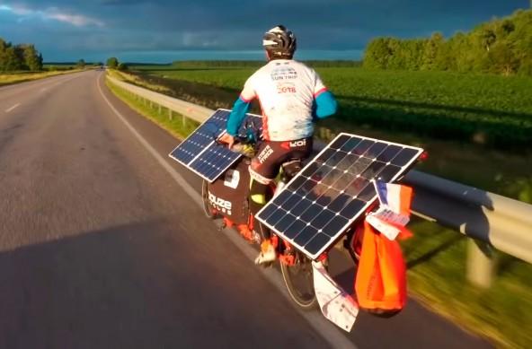 12825 км на электрических велосипедах