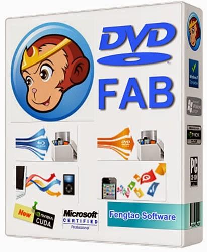 DVDFab 11.0.1.6 - простое клонирование дисков