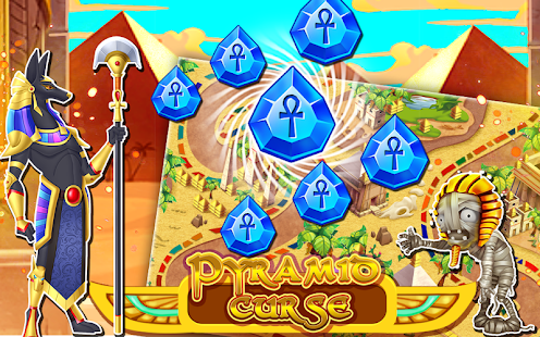 Проклятие пирамиды 1.6 - захватываюшая аркада