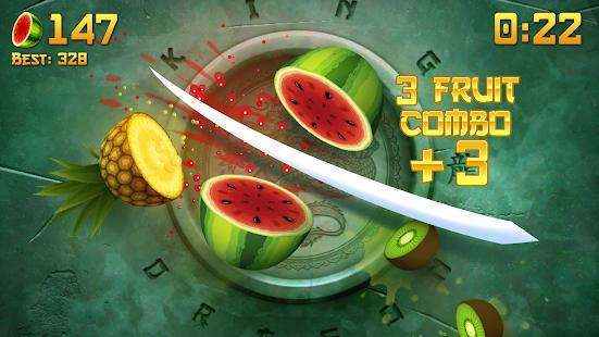 Fruit Ninja 2.7.5 - почувствуй себя настоящим ниндзя